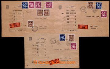 222279 - 1939-1945 [SBÍRKY]  CELISTVOSTI / partie cca 25ks různých