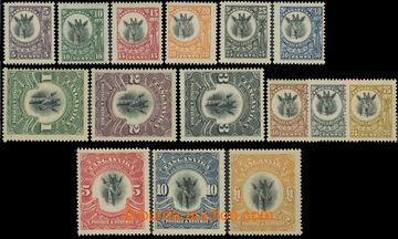 222335 - 1922-1924 SG.74-88, Žirafa 5C - £1, kompletní série, pr�