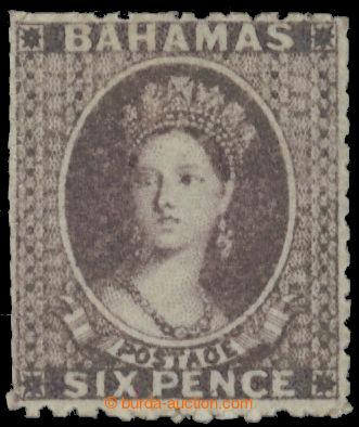 222382 - 1862 SG.19a, Viktorie Chalon Head 6P lilac bez průsvitky; b