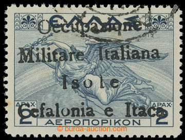 222421 - 1941 ITHAKA - Italská okupace / Sass.POSTA AEREA č. 16, ř