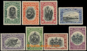 222429 - 1931 SG.295-302, 50 let North Borneo Company 3C - $5; bezvad