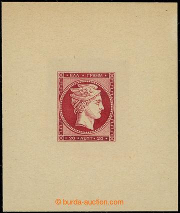 222439 - 1880 PADĚLEK / Jean de Speratti - Hermes 20L karmínová  (