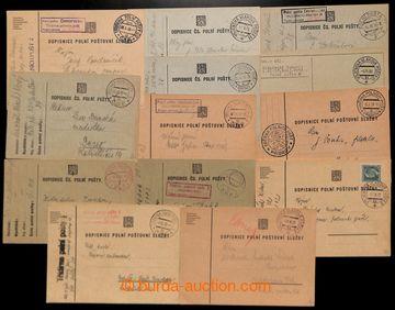 222525 - 1938 [SBÍRKY] sbírka více jak 60ks lístků PP, obsahuje