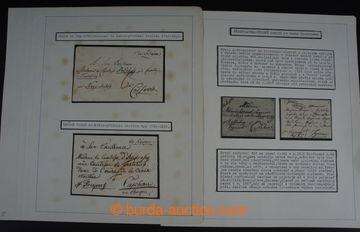 222575 - 1775-1852 [SBÍRKY]  PŘEDZNÁMKOVÉ OBDOBÍ NA ÚZEMÍ SLOV