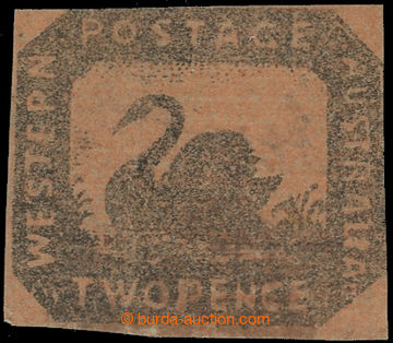 222598 - 1857 SG.15, Black Swan 2P hnědočerná / červená, lokáln