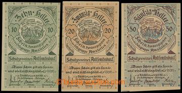 222615 - 1920 Příspěvkové poukázky německo-rakouského spolku A