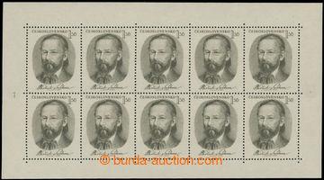 222806 - 1951 Pof.PL594, Smetana 1,50Kčs zelenošedá; svěží bez