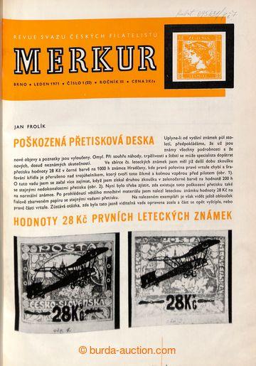 222893 - 1969-1971 Časopis MERKUR, kompletní ročníky 1969-1971 v�
