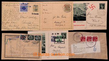 223035 - 1938 [SBÍRKY] CELISTVOSTI / SUDETY, zajímavá sbírka 50ks