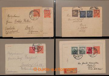223041 - 1939-1945 [SBÍRKY]  CELINY /  sbírka 25ks zálepek, obsahu