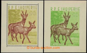 223090 - 1962 Mi.Bl.15-Bl.16, Zvířena 20L, oba aršíky; velmi pěk
