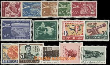 223102 - 1951-1954 SESTAVA / Mi.666-667, 689-692, 693-695, 733 a 751-