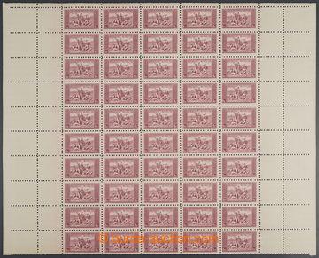 223117 - 1934 ARCHOVINA / Pof.281K, KDM, 1Kč červená, horní polov