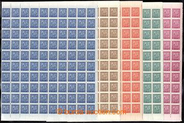 223121 - 1929 ARCHOVINA, Pof.248-252, Znak hodnoty 5h - 30h, sestava