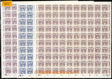 223134 - 1934 ARCHOVINA / Pof.OT1-OT3 ST, Obchodní tiskoviny OT, kom