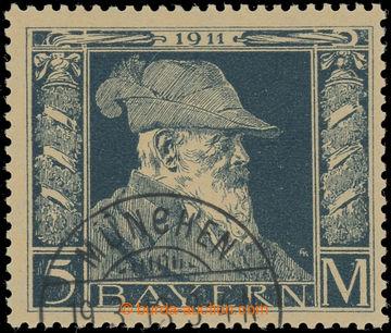 223150 - 1911 Mi.89II, Luitpold 5M II. typ s DR MÜNCHEN; zk. Helbig