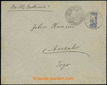 223157 - 1911 Mi.10H (dříve MI.I), PROVISORIUM LONGJI, dopis s půl