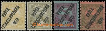 223173 -  Pof.90, 92, 93 a 94, 2f III. typ, 6f III. typ, 50f a 60f IV