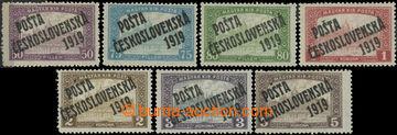 223175 -  Pof.111-117, 50h - 5K, hodnota 3K II. typ, 5K III. typ; po