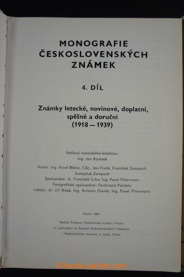 223229 - 1971-1990 Monografie československých známek, díly 2 a 4