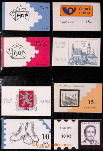 223231 - 1993-1995 [SBÍRKY]  sbírka 45ks známkových sešitků, mj