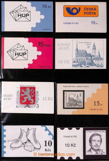 223232 - 1993-1995 [SBÍRKY]  sbírka 33ks známkových sešitků, mj