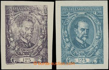 223317 -  ZT  hodnoty 125h, sestava 2 zkusmých tisků v modrozelené