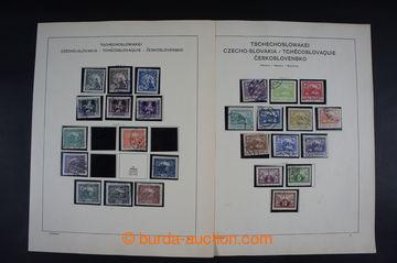 223318 - 1918-1943 [SBÍRKY]  GENERÁLNÍ / menší nekompletní sbí