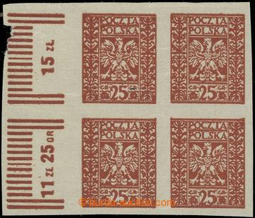 223374 - 1928 Mi.263F, Fischer 244P2, Znak 25Gr, tzv. Vídeňský pad