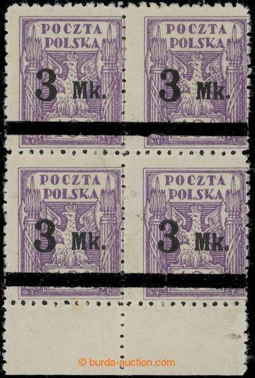 223381 - 1921 ZT Mi.153, Fischer 120P2+B2, zkusmý tisk přetiskové