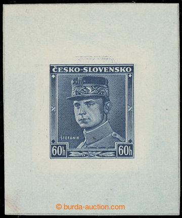 223429 - 1939 ZT  Štefánik 60h, nápis ČESKO - SLOVENSKO, zkusmý