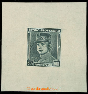 223432 - 1939 ZT  Štefánik 60h, nápis ČESKO - SLOVENSKO, zkusmý