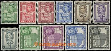 223433 - 1938 SG.93-104, Jiří VI. 1/2A-5Rs; bezvadná kvalita, kat.