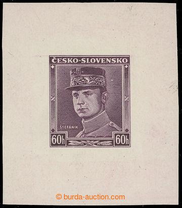 223434 - 1939 ZT  Štefánik 60h, nápis ČESKO - SLOVENSKO, zkusmý