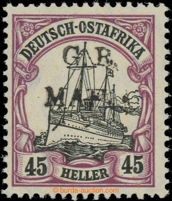 223458 - 1915 MAFIA ISLAND SG.M5A, Císařská jachta 20h s černým