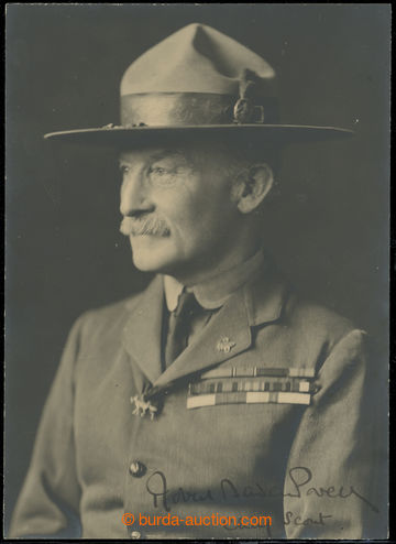 223472 - 1910 BADEN-POWELL Generál Robert (1857-1941), hrdina búrsk