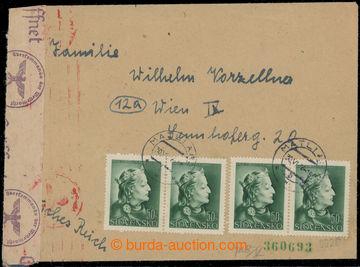 223478 - 1943 KINDERLANDVERSCHICKUNG MATLIARE / KLV-Lager Slo/68, pen