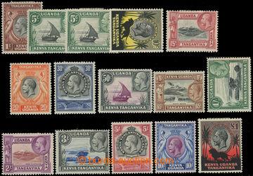 223483 - 1935 SG.110-123, Jiří V. - Krajinky 5C-£1, navíc 111a, R