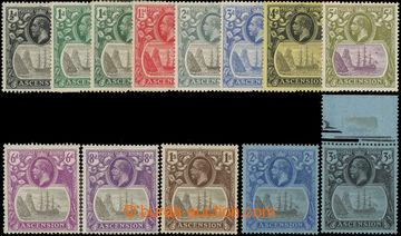 223490 - 1924 SG.10-20, vč. dodatečných SG.11d, 15d, Jiří V. Fre