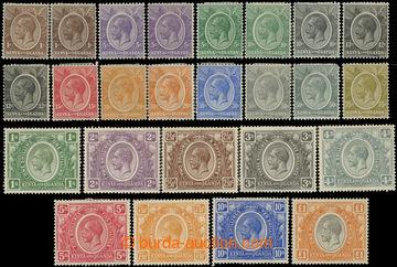 223493 - 1922-1927 SG.76-95, Jiří V. 1C-£1; základní série a na