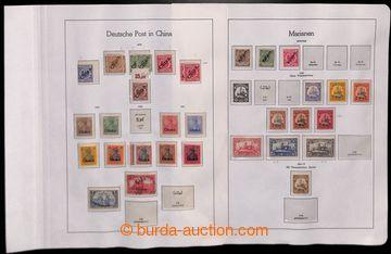223498 - 1884-1918 [SBÍRKY]  sbírka většinou * známek kolonií,