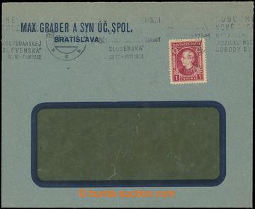 223502 - 1939 Maxa M19, identifikační dopis vyfr. zn. 1K Hlinka, ka