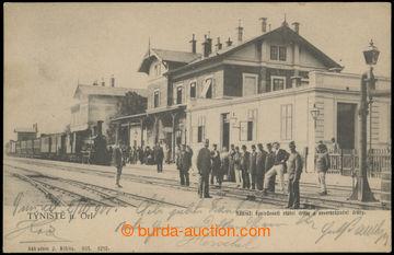 223514 - 1901 TÝNiŠTĚ NAD ORLICÍ - vlakové nádraží; DA, proš
