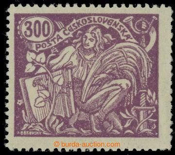 223556 -  Pof.175A, 300h fialová, ŘZ 13¾, III. typ; svěží, luxu
