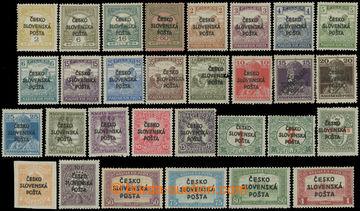 223574 -  Pof.RV133-RV162, Žilinské vydání (Šrobárův přetisk)