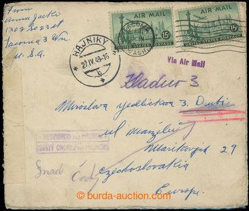 223577 - 1949 poštovna MEDZIBROD (ONDREJ nad HRONOM) - č. 2216, raz