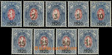 223590 - 1919 Pof.PP6, PP7-PP15, Dobročinné - Lvíček, série SIB�
