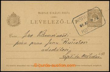 223595 - 1909 SLOVENSKÉ ÚZEMÍ / poštovna PALÚDZKA (LIPTOVSKÝ MI
