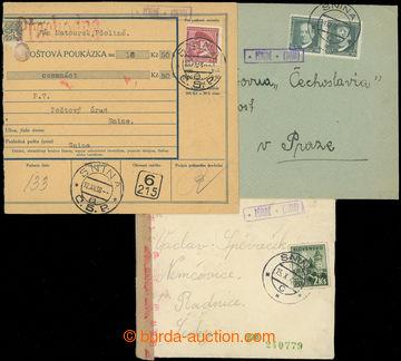 223599 - 1936-1942 poštovna PČOLINÉ (SNINA) - č. 2253, sestava 3k