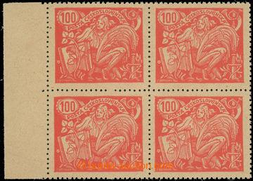 223606 -  ZT  hodnoty 100h červená, II. typ, zkusmý tisk v krajov�